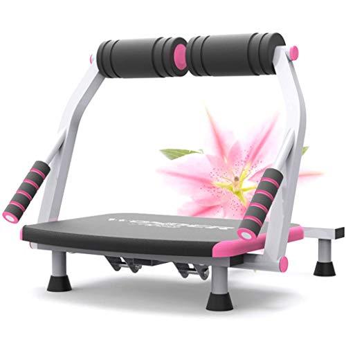 YLKCU Mini Cyclette pedaliera Core Addominal Trainers 6 in 1 Sit-Up Board Home Fitness Fold Multifunzione Vita Sottile Macchina per la Vita di Bellezza Attrezzatura per Esercizi Pigri