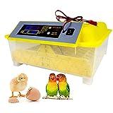 Eierbrutapparat 48 Eier Automatische Eierbrutapparate, Brutgeflügel mit Temperatur- und Feuchtigkeitsregelung, Brutapparat mit automatisch