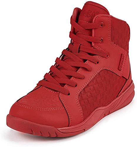 Zumba Fitness Street Boss Fashion Dance Shoe - Zapatillas de Baile para Mujer con Soporte de Alto Impacto, Color Rojo, Talla 38.5 EU