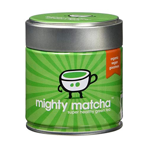 Mighty Matcha Te Verde Matcha Ecologico – Te Matcha Ceremonial 100% Organico – Premio de Oro Great Taste – Infusion Natural Quemagrasa - 30g