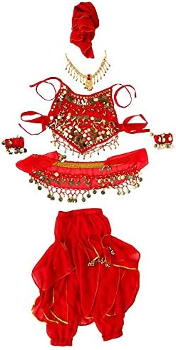 Child belly dance costume _image0