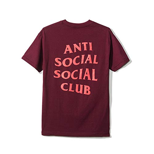 Unisex Hip Hop Mode Anti Social Social Club T-Shirt Sweat Tee Style Tee