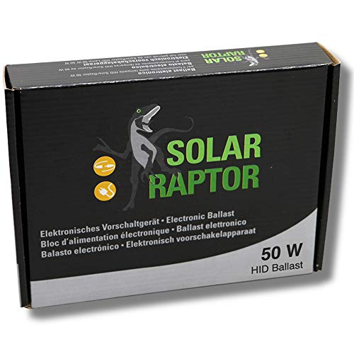 Econlux SolarRaptor elektr. Vorschaltgerät für 50 W HID-Lampen Euroversion 230 V