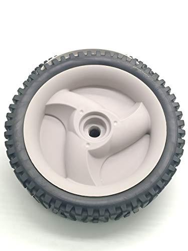 Lowest Prices! shiosheng 2pcs Lawn Mower Wheels for Husqvarna/Poulan/Roper/Craftsman/Weed Eater 5837...