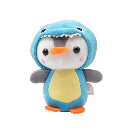 Weilaijaiju Pingüino peluche animales juguetes Kawaii muñeca suave fantasía jirafa pingüino dinosaurio niños Plushie muñeca niña regalo (color: dinosaurio)
