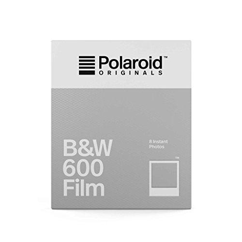 Polaroid Originals - 4671 - Película Negro y Blanco para cámara 600 - Marco Clásico Blanco