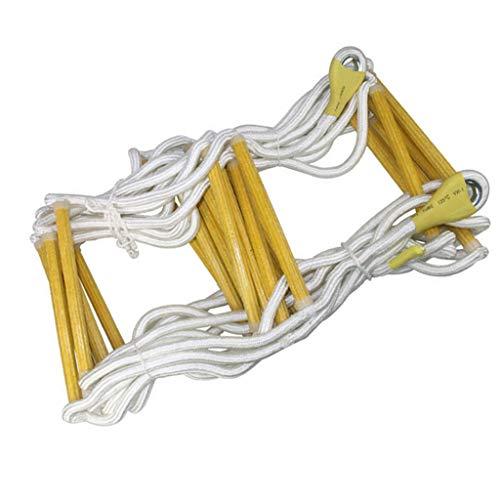 Belltower Emergency brandtrap multifunctionele ladder ladder, snelle implementatie en eenvoudig te gebruiken hoge hoogte klimladder - maximale belasting 450kg