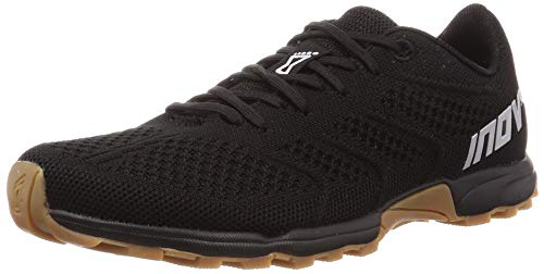 Inov-8 Womens F-Lite 245 - Cross Trainer Shoes - Lightweight and Comfortable Running Sneakers - Black/Gum - 10