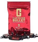Caffeine Bullet 16 caramelo de menta: superan a los gel energéticos, cafeina chicle y cápsulas. Nutrición deportiva con electrolitos para correr maraton, ciclismo, gimnasio y entrenamiento resistencia