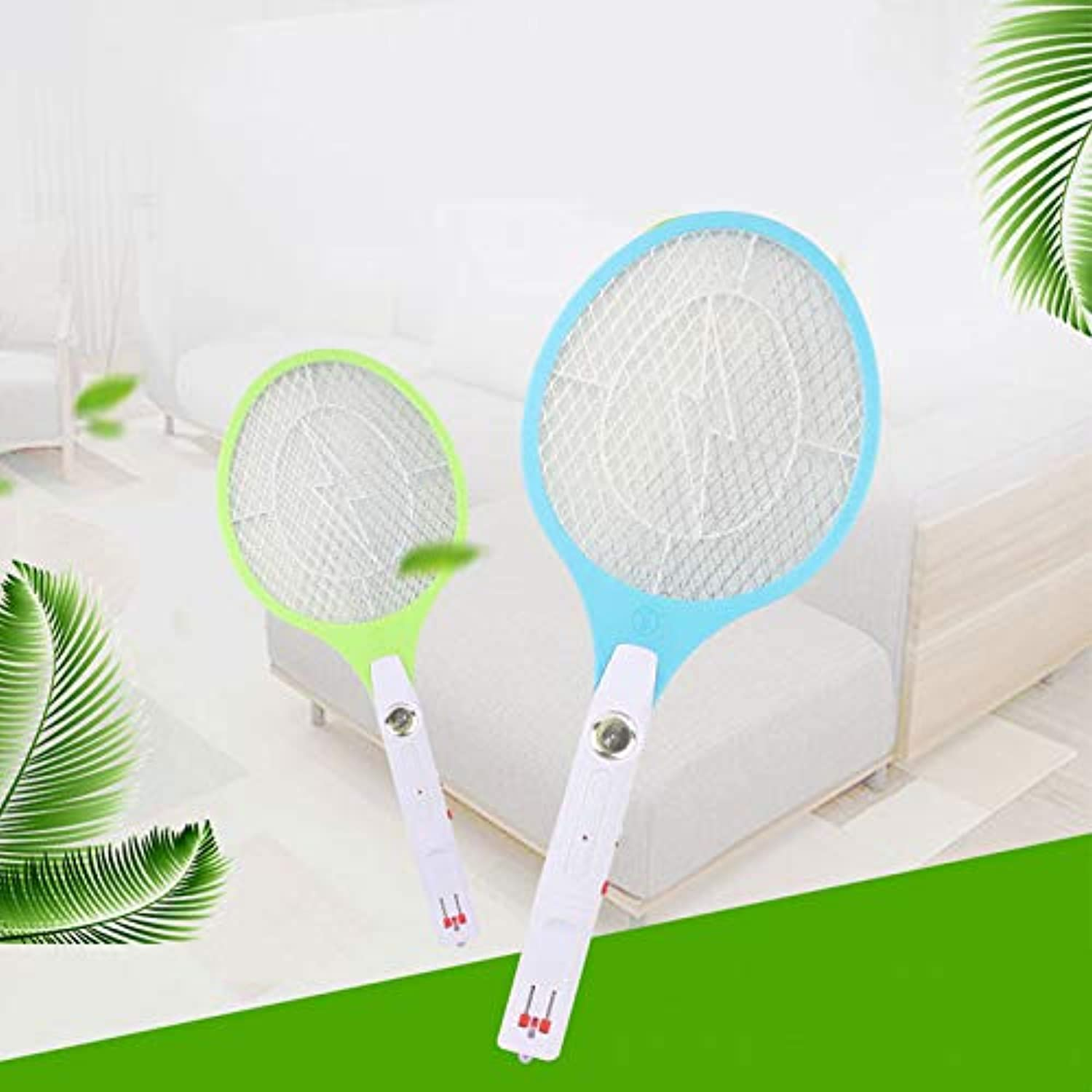 Shoppy Star USB Electric Mosquito Swatter Anti Mosquito Fly Repellent Bug Insect Repeller Killers Pest Reject Racket Trap D  Yellow