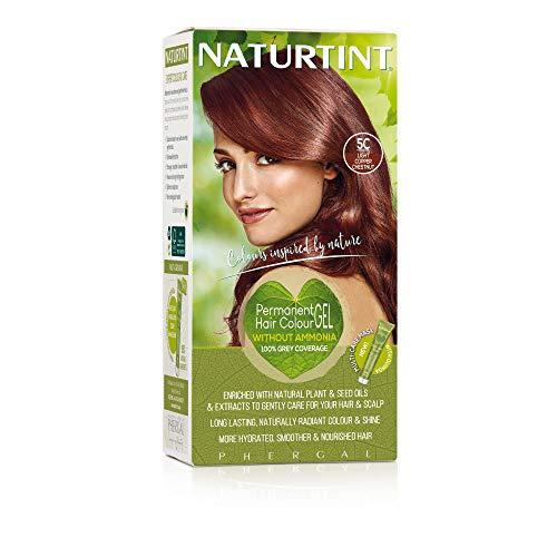 Naturtint Permanente Haarfarbe, 5C helles kupferfarbenes Kastanienbraun