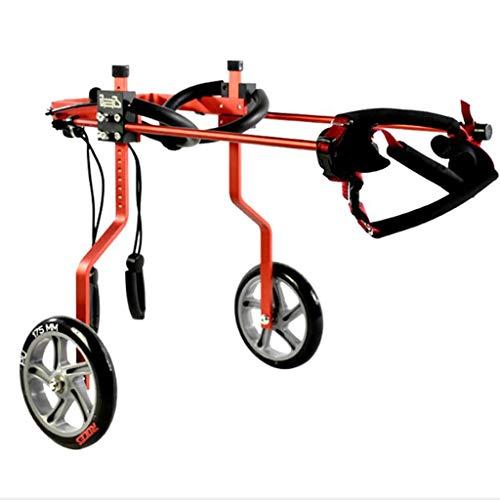 Silla de ruedas para perros ajustable Perro silla de ruedas silla de...