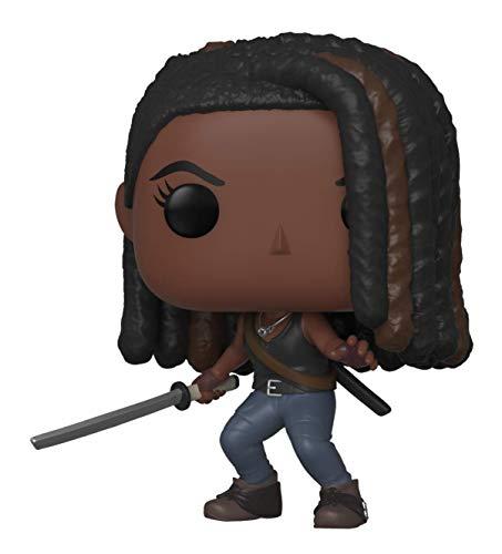Funko- Pop Figura in Vinile TV: Walking Dead-Michonne The Collezione, Multicolore, 43536