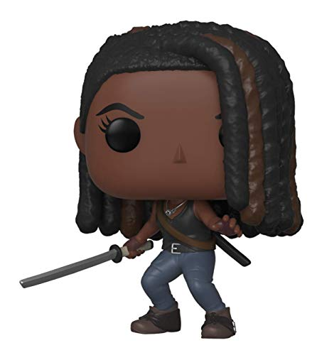 Funko Pop Figura De Vinil TV: Walking Dead-Michonne The Coleccionable, Multicolor (43536)