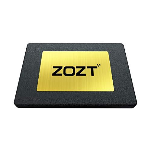 ZOZT G3000 interne SSD-Festplatte, 480 GB, 3D NAND 2,5 Zoll SATA III SSD-Festplatte (R/W bis zu 540/490 MB/s), geeignet für Laptop, Desktop, etc.