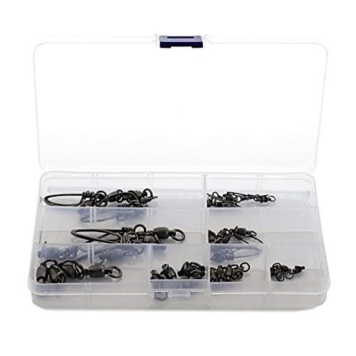 Epic Fishing Co. 100% Stainless Steel Dual Rotation Ball Bearing Swivel Kit   32 Pieces