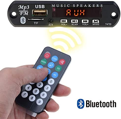MP3 WMA Decoder Board Wireless Bluetooth 5V 12V Free shipping anywhere in the nation SD San Diego Mall F TF AUX USB