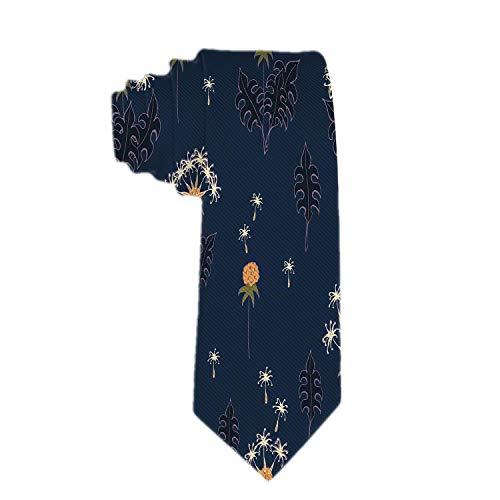 Lazo delgado clásico de la flor del diente de león para hombre, lazos delgados delgados, corbatas ecológicas de los muchachos de la moda
