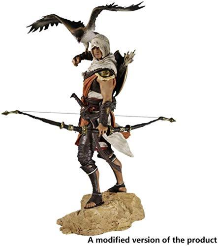 XXSDDM-WJ Assassin s Creed Bayek Figur Mit Adler - Hoch 9 8 Zoll1224