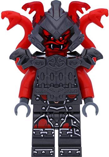 LEGO Ninjago Minifigur Vermillion Warrior / Krieger / Kämpfer mit Schwert (Die Meister der Zeit)