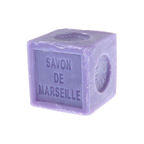 Natural Marseille - Jabón de lavanda tradicional francés receta cubo 300 g