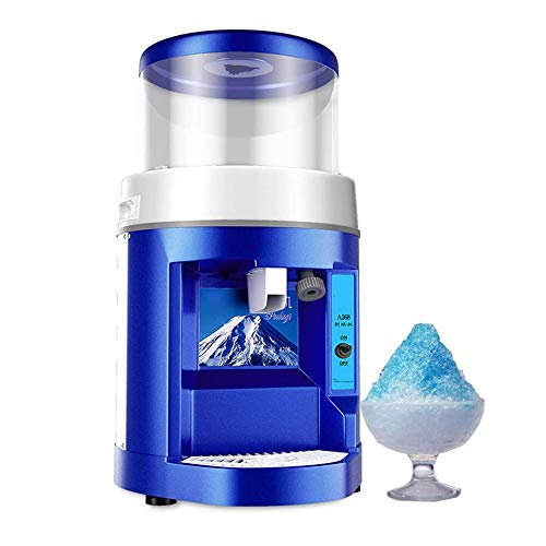 Affordable 250W Commercial Ice Shaver Automatic Large Capacity Snow Cone Maker Thickness Adjustable ...