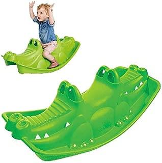 Paradiso Toys NV–Balancín cocodrilo Verde 1&