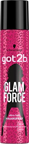 Got2b Haarspray Glam Force Halt 5, 2er Pack (2 x 275 ml)
