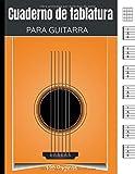 Cuaderno de Tablatura para Guitarra: Cuaderno de música para guitarristas aficionados y profesionales | 7 tablaturas y 6 diagramas de acordes por página | 120 páginas.