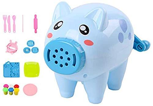 N\A ZT Pater Modeler Machine Incolla, Strumenti di modellazione nella Macchina Giocattolo, Toyle Cucina Giocattoli Fai da Te per Bambini 21 (Color : Blue)