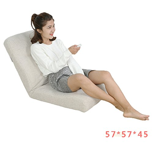 Canapé Canapé paresseux, chaise pliante, canapé décontracté chaise (Couleur : 1#, taille : 57 * 57 * 45cm)