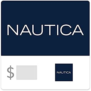 Save $10.50 with code NAUTICA off purchases of $50 or more of Nautica email gift cards