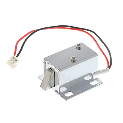 JENOR Electronic Door Gate Lock Catch Release Assembly Solenoid Access 12V 0.4A