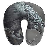Almohada en Forma de U, Cuello, águila, halcón, Viaje, Almohada Multifuncional, Coche, avión
