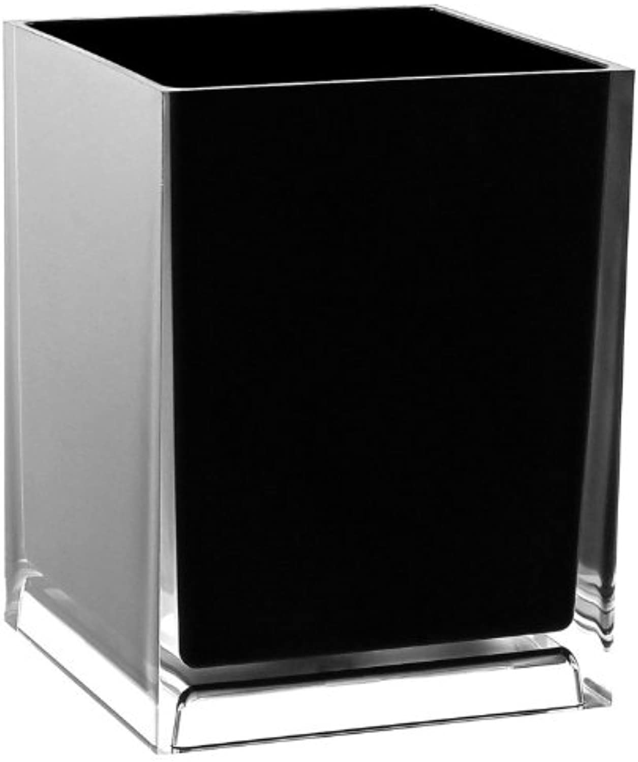 Gedy Gedy RA09-14 Rainbow Dustbin Box, 2.5  L x 7.09  W, Black