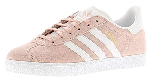 adidas Gazelle J, Chaussures de Running Homme, Multicolore (Ice Pink F17/Ftwr White/Gold Met. By9544), 38 EU