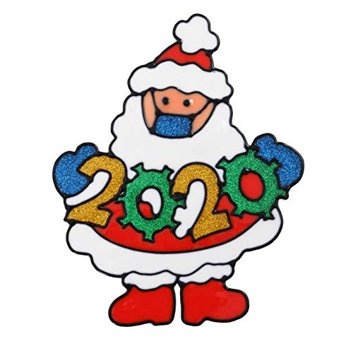 Generic Christmas Decoration Window Cling Glueless PVC Wall Stickers For Windows Glasses