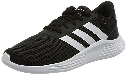 adidas LITE Racer 2.0 K Running Shoe, Core Black FTWR White Core Black, 5 UK