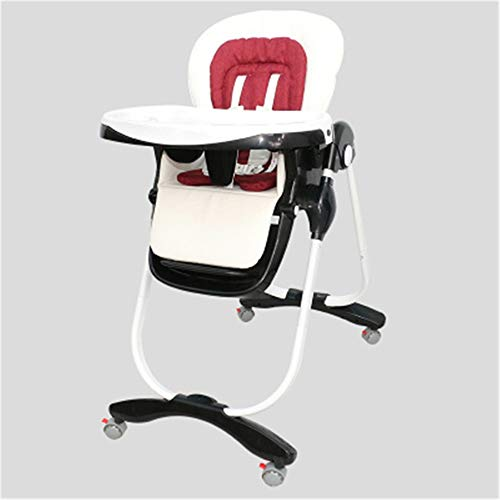 New Baby Dining Chair Booster Seat High Chair with Tray Feeding Plate Baby Portable Kids Dinner Chai...