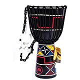 JXRY Principiante Instrumento de percusión del Tambor Tribal...