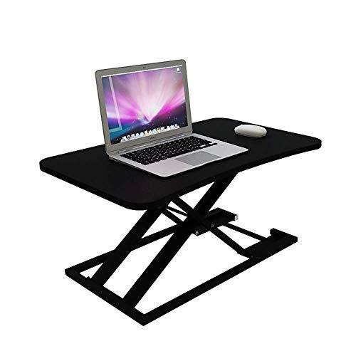 Home Beistelltische Einfache Studentenwohnheim Kleinen Schreibtisch Faltbare Faulen Kleinen Tisch Bett Computertisch Computer Klapptisch, BOSS LV, Schwarz
