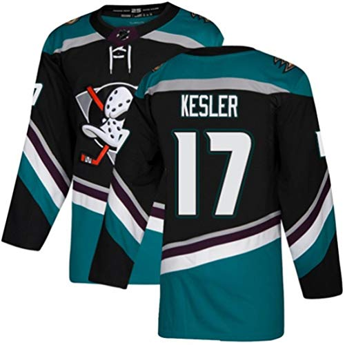 HZIH Eishockey Trikots Sporttraining Bekleidung NHL Männer Sweatshirts atmungsaktiv T-Shirt mit gesticktem Logo Kesler # 17,3XL