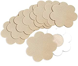 Dailychic 5 Pairs Flower Shape Nipple Breast Covers, Sexy Breast Pasties Disposable Adhesive Bra (1 PACK(5 Pairs))