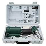 Air Hydraulic Pop Rivet Gun Set, Industrial Use Heavy Duty Power Pneumatic Riveter Kit Compressed 3/16' 5/32'...