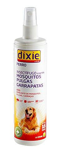 Spray Insectífugo REPELENTE perro DIXIE 175 ml mosquitos, garrapatas y pulgas