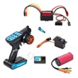 koolsoo RC Car Brushless Motor Brushless ESC Electric Speed Controller Dust-Proof for WLtoys A959 A979 A959-B HSP