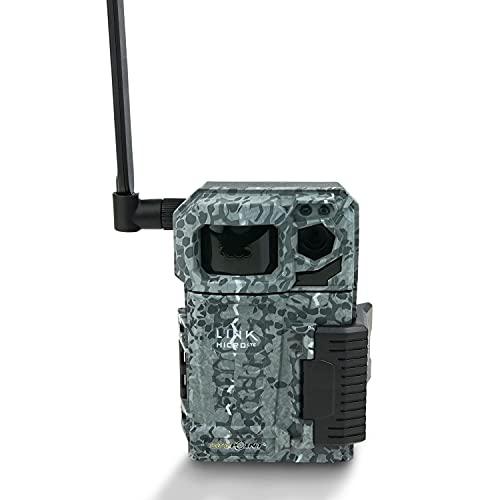 Spypoint LINK-Micro LTE - Telecamera per animali selvatici, con scheda SIM, per la trasmissione su smartphone, con infrarossi, 4 LED, 10 megapixel