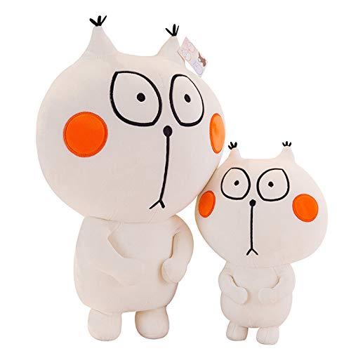 Creativo Almohada De Gato Juguete De Peluche Linda Muñeca De Gato Suave Animal Almohada para Abrazar Cojín Relleno Regalo para Bebés, Niños, Adultos, Amigos, 30cm / 45cm / 60cm
