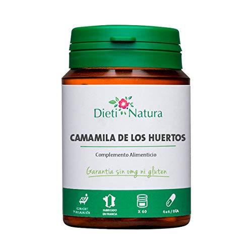 Camamila de los Huertos (Artemisa) 200 cápsulas de Dieti Natura. En caso de dolor de cabeza [Fabricado en Francia][Garantía Sin OGM ni Gluten] (Bote de 200 cápsulas)