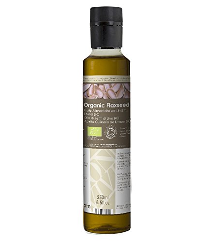 Naissance Convive Organic Virgin Flaxseed (Linseed) Food Oil 250ml Certified Organic